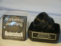 '     35mm F4 RODAGON  CASED-MINT-AS NEW ' Rodenstock   RODAGON  F4 35MM Enlarging Lens Cased -AS NEW- Totally Mint £89.99